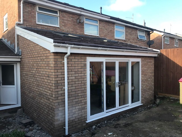 EXTENSION TO REAR OF PROPERTY